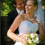 Bräutigam und Braut
